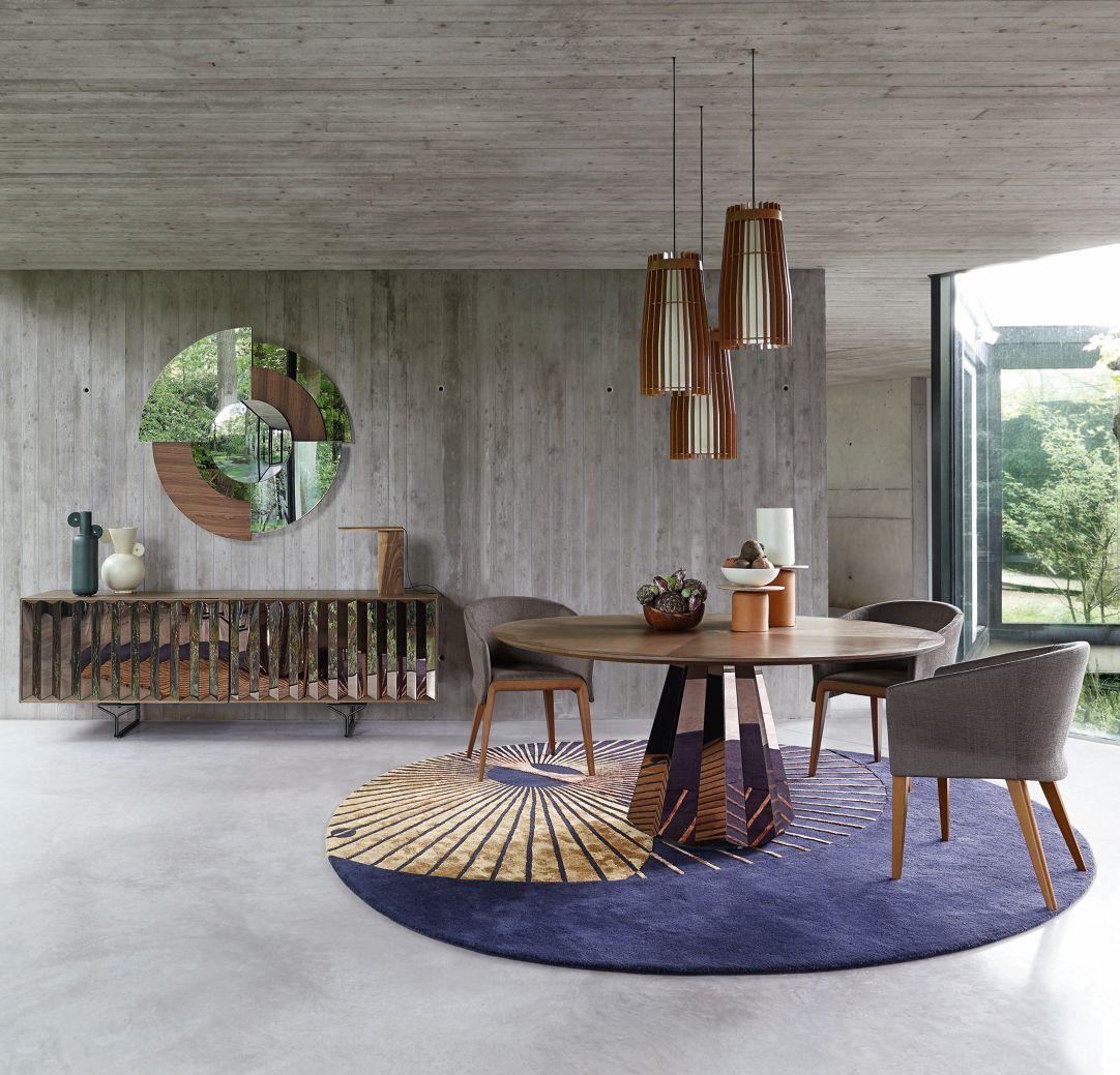 Ensemble Table Ronde Et Chaise Génial Roche Bobois Paris Interior Design & Contemporary Furniture