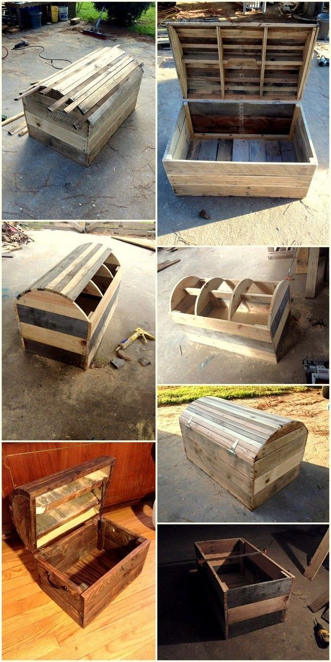 Fabrication Palette Frais Pallet Wood Diy Box Idea Coffre Of 25 Best Of Fabrication Palette