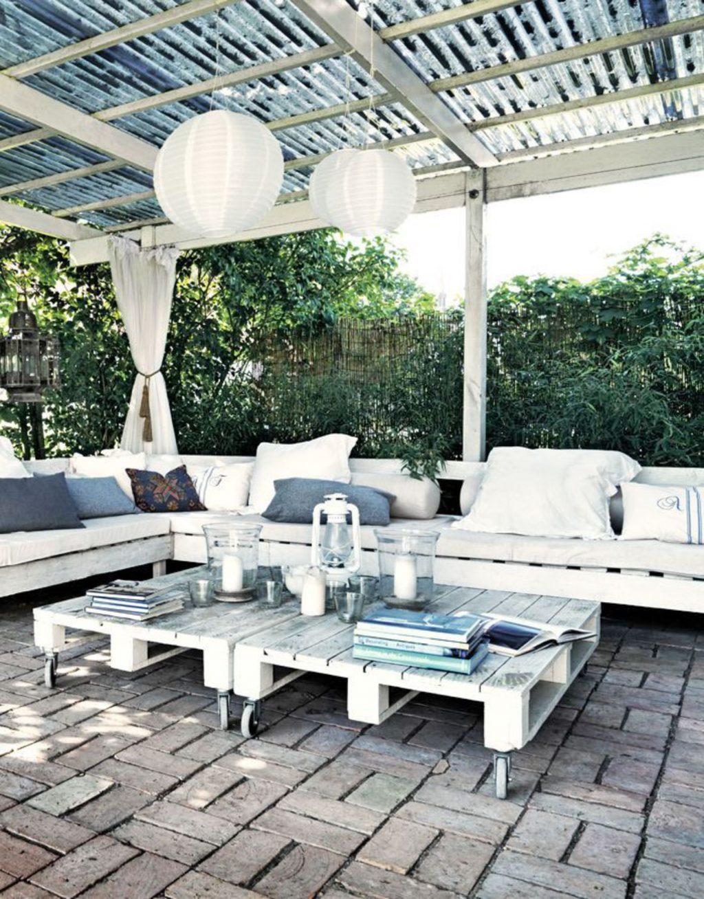 fabriquer salon jardin collection palette bois images hesperide meuble coussin canape terrasse banc fauteuil table banquette pour une meubles palettes mobilier exterieur 1024x1308