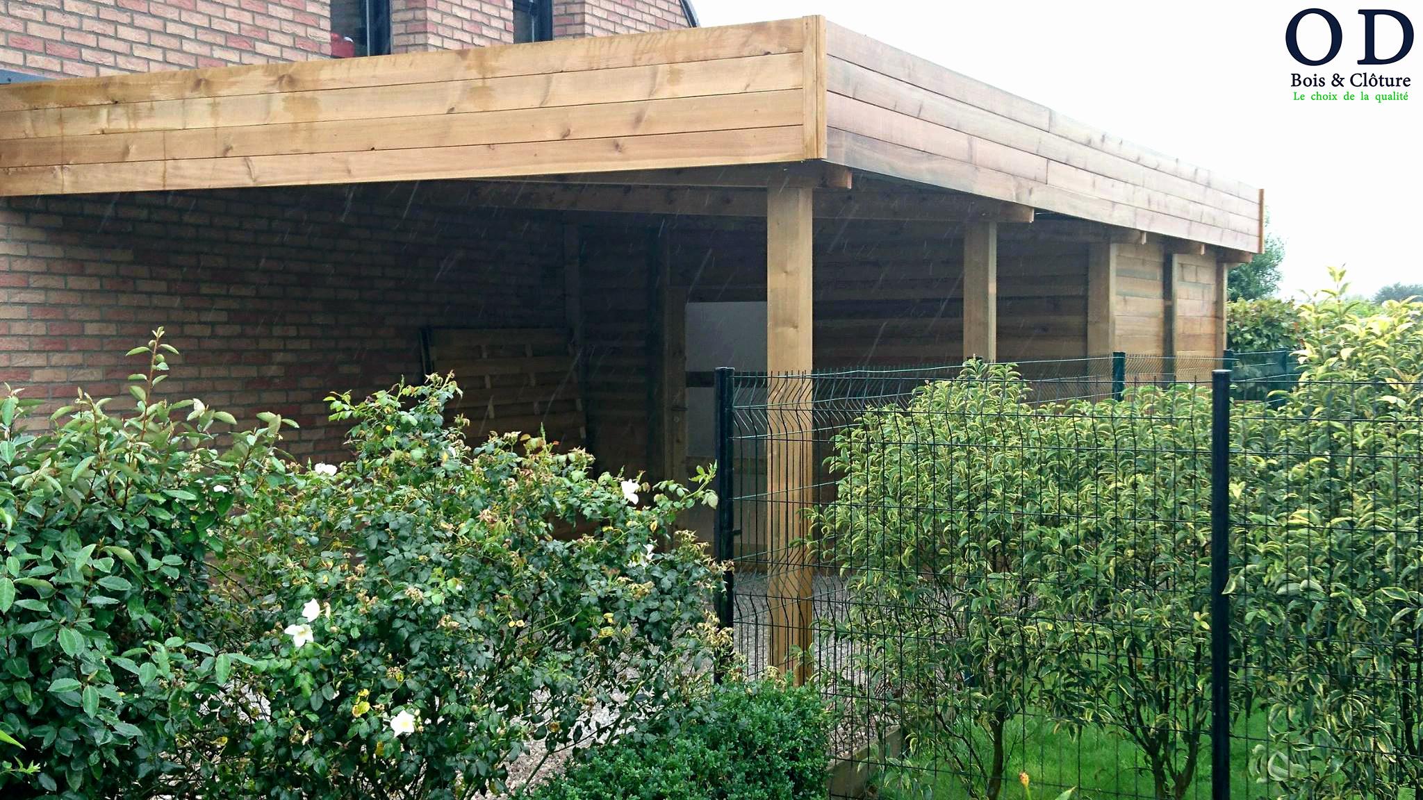 fabriquer carport toit plat luxe construire un abri de jardin en bois toit plat charmant 21 of fabriquer carport toit plat