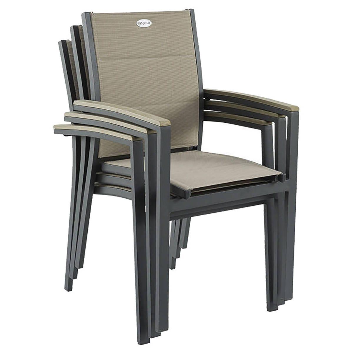 fauteuil azua taupe