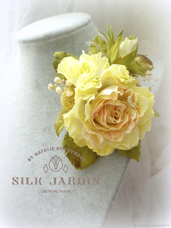 512bdbfd04c30aa613cad s ukrasheniya tsvety iz foamirana brosh zakolka roza limonnyj d