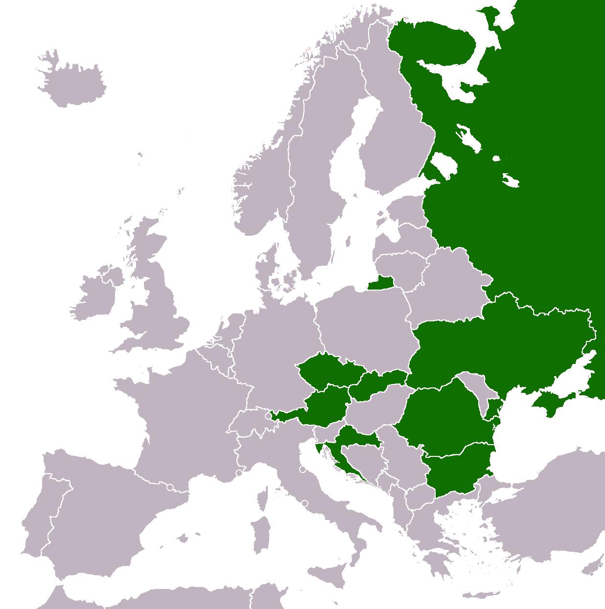 Billa in Europe