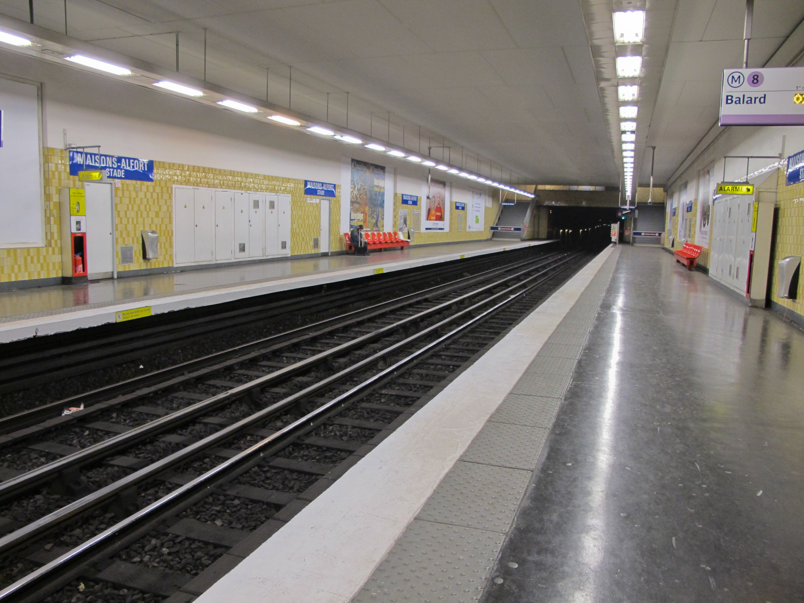 Station métro Maisons Alfort Stade IMG 3667