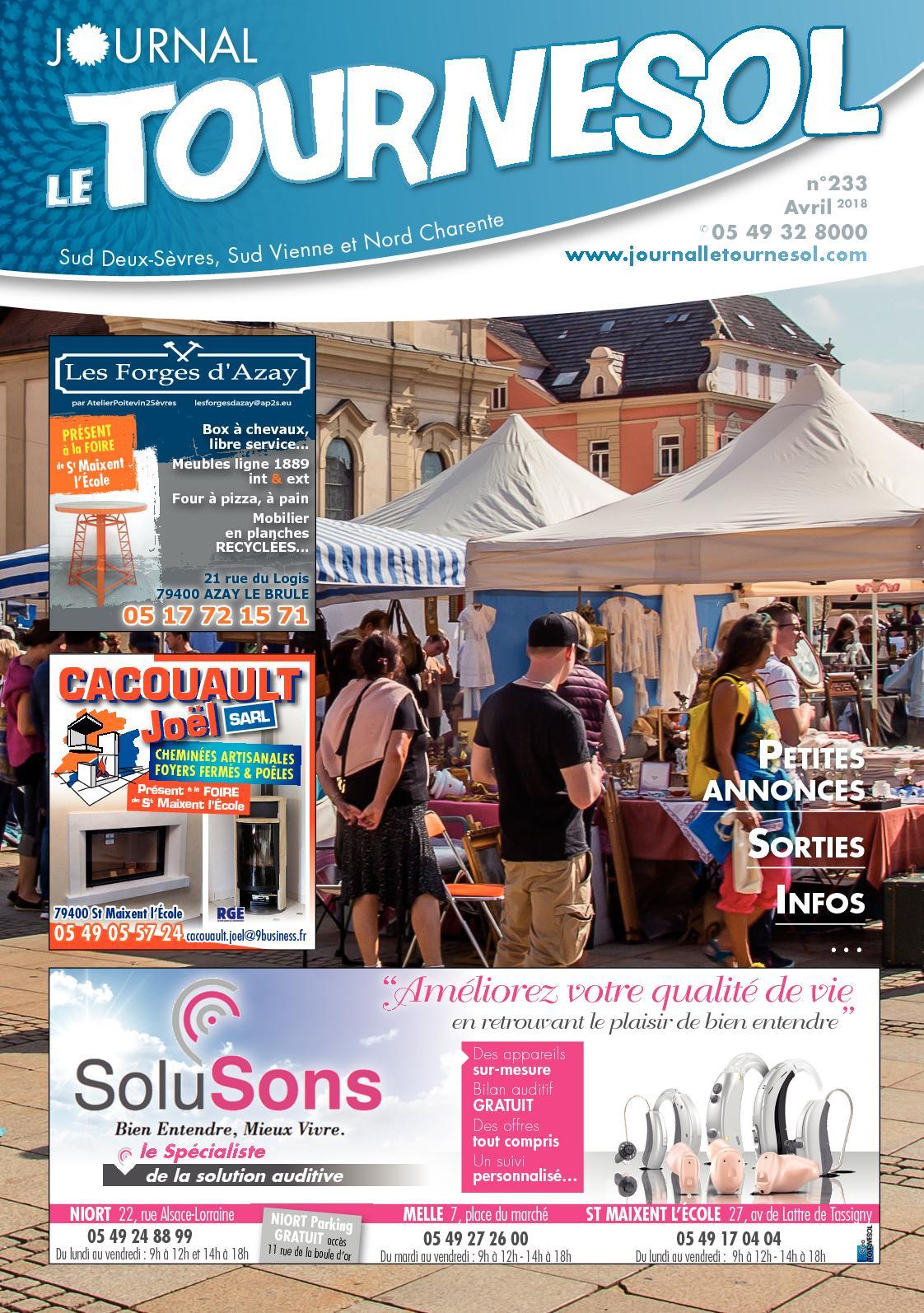 Leclerc so Ouest Génial Calaméo Journal Le tournesol Avril 2018 Of 30 Nouveau Leclerc so Ouest