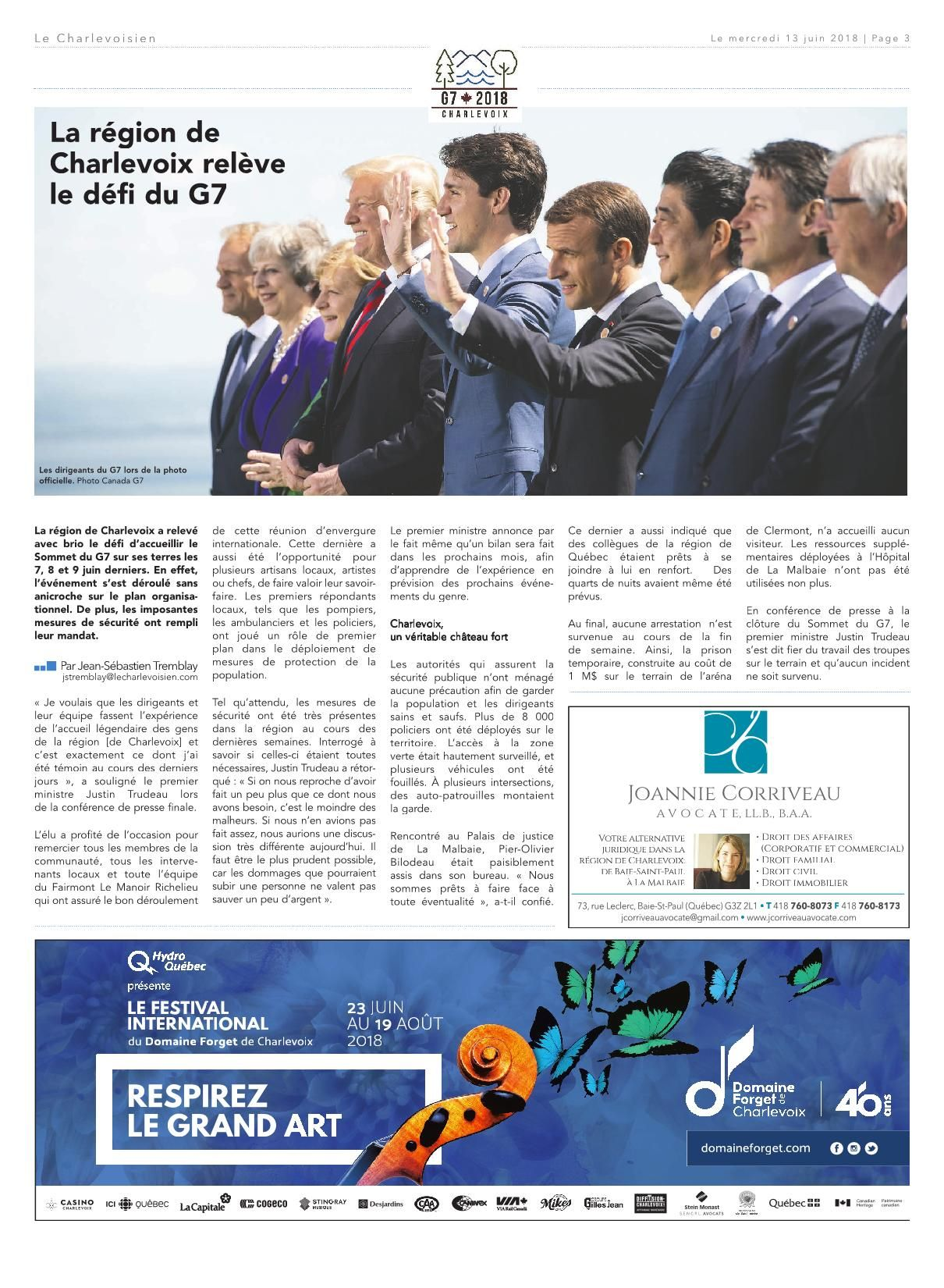 Leclerc so Ouest Inspirant Le Charlevoisien 13 Juin 2018 Pages 1 40 Text Version Of 30 Nouveau Leclerc so Ouest