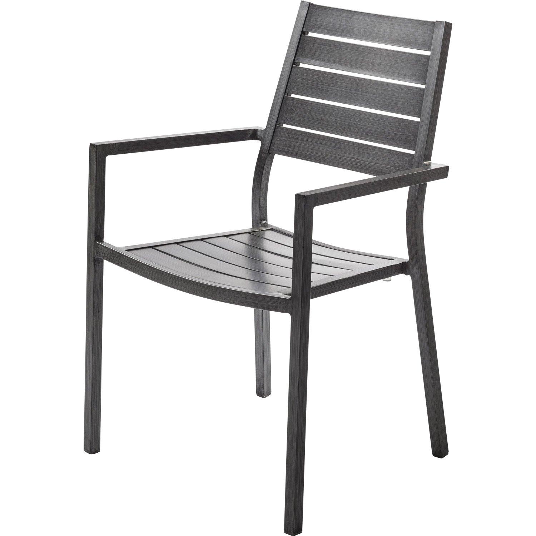 chaise et fauteuil de jardin avec en aluminium dans leroy merlin chaise et fauteuil de jardin 4 avec en aluminium antibes argent leroy merlin
