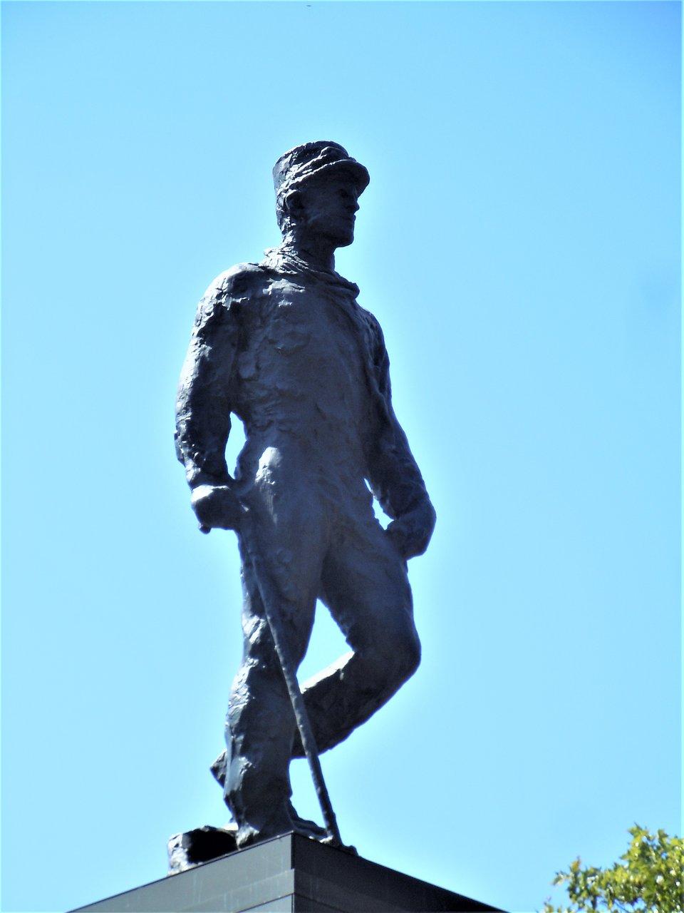 detail de la sculpture