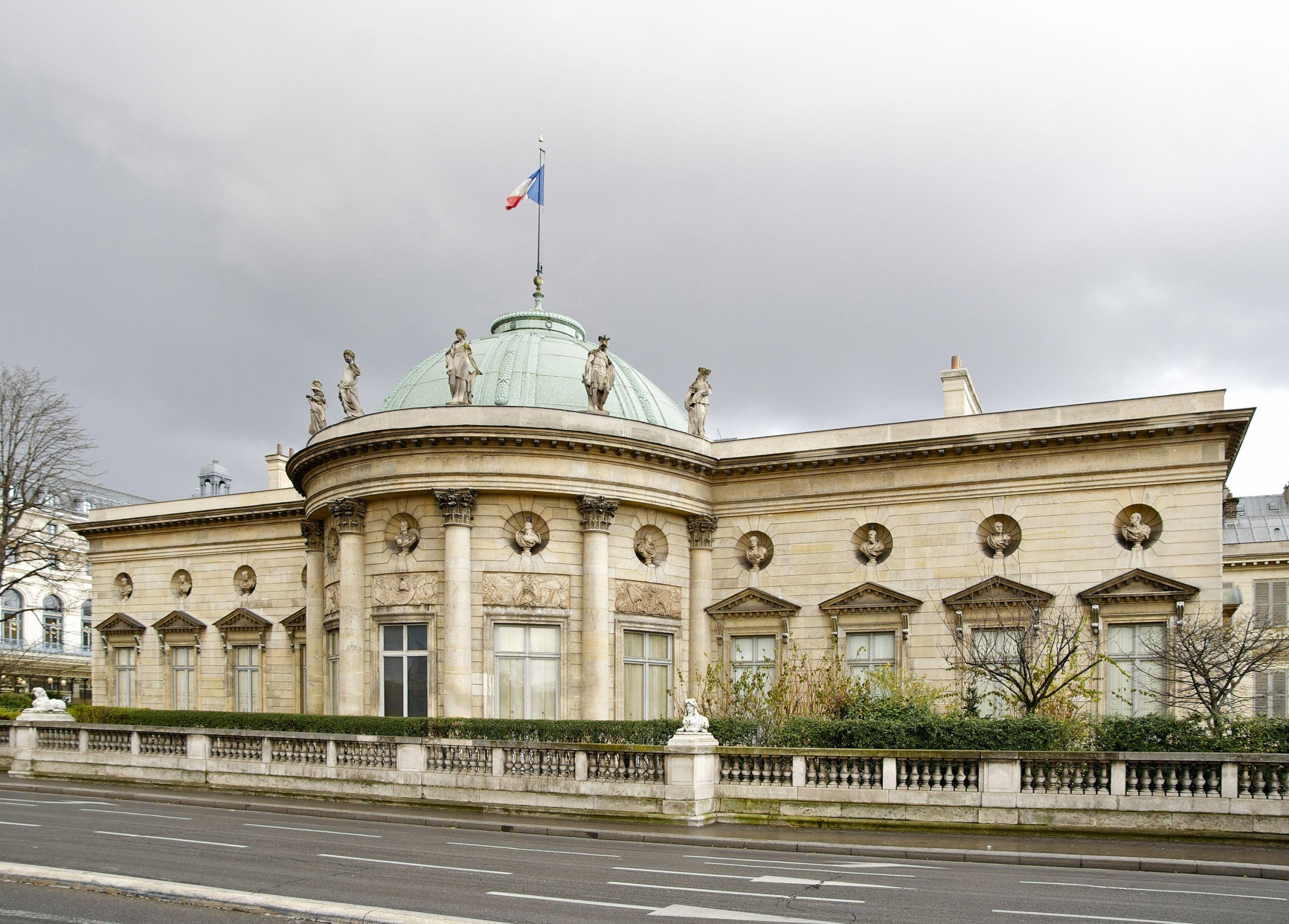 Hôtel de Salm côté Seine Palais Légion d Honneur Paris