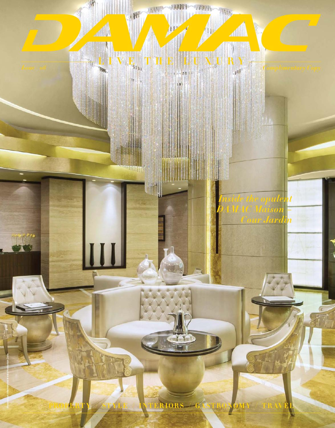 Marque Salon De Jardin Luxe Damac issue 06 by Hot Media issuu Of 38 Luxe Marque Salon De Jardin