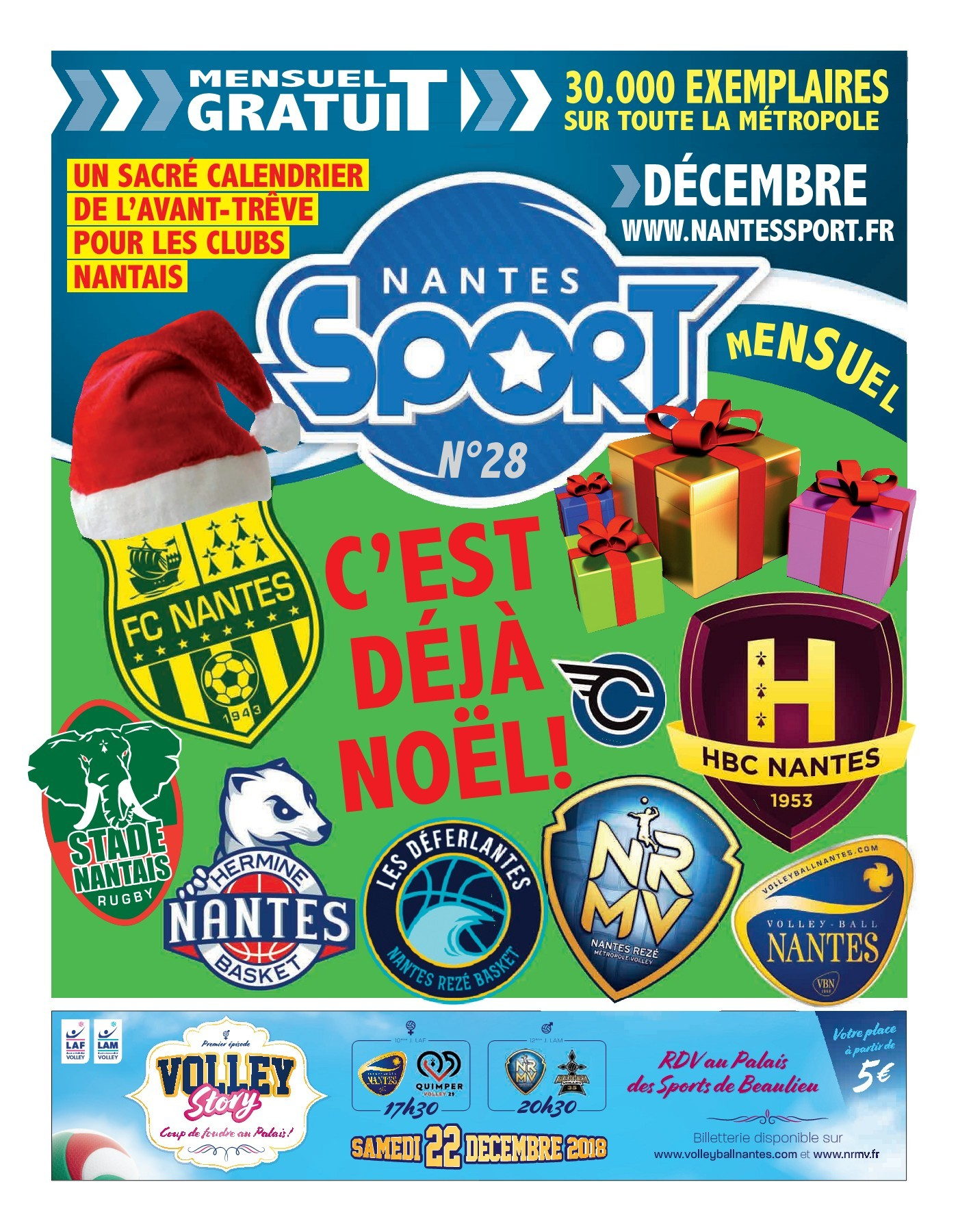 Menu De Noel Leclerc Charmant Nantes Sport 028 Pages 1 48 Text Version Of 37 Élégant Menu De Noel Leclerc