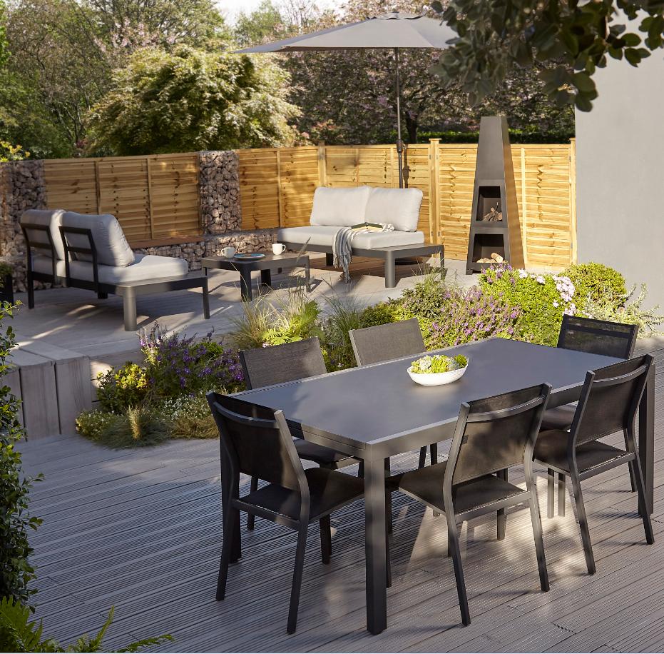 Meuble De Jardin Castorama Beau Cette Table Affiche Un Style Naturel Des Plus Tendances