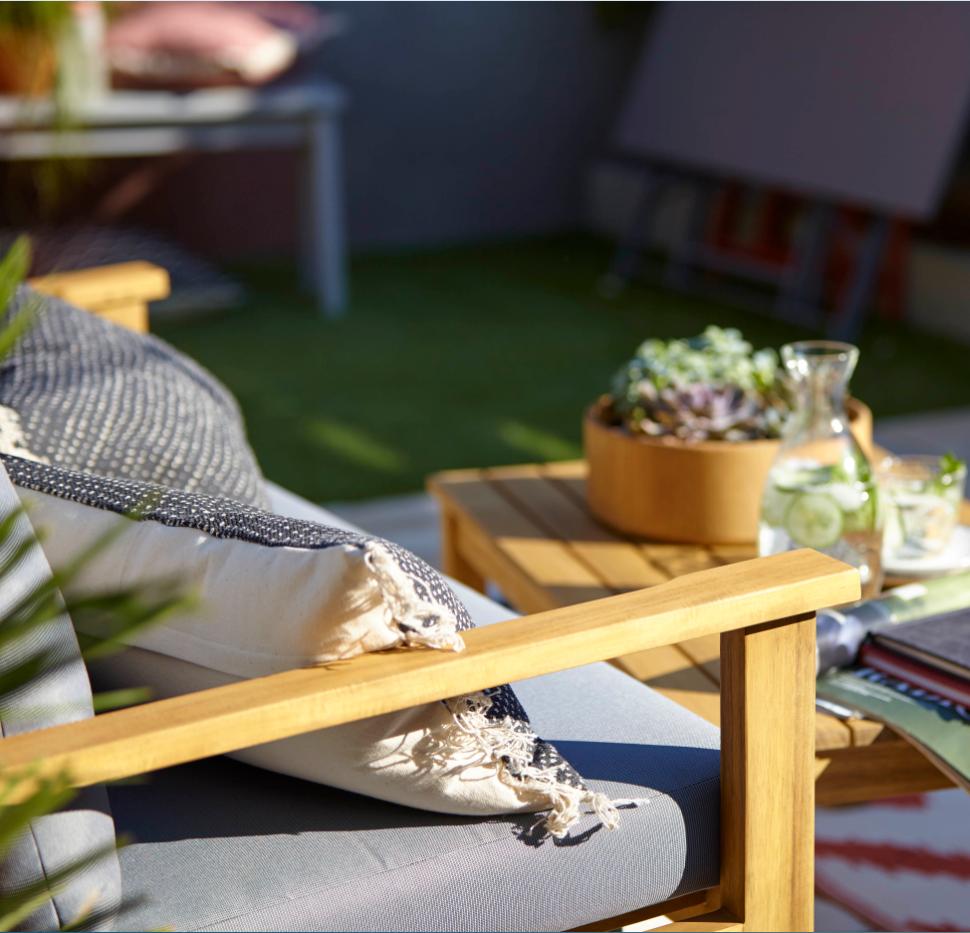 Meuble De Jardin Castorama Élégant Cette Table Affiche Un Style Naturel Des Plus Tendances