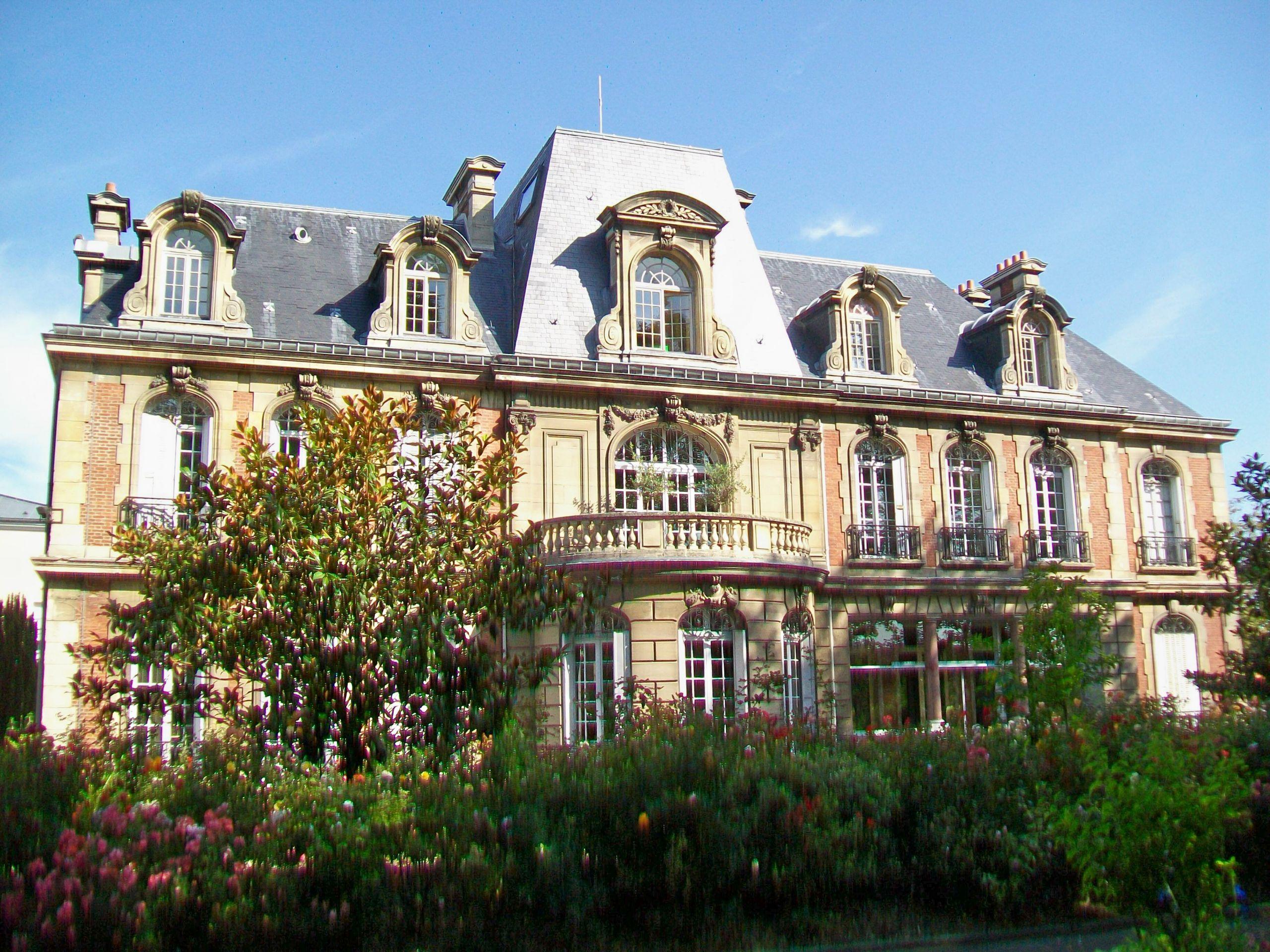 Gonesse 95 Hôtel de ville rue de Paris façade sud 1