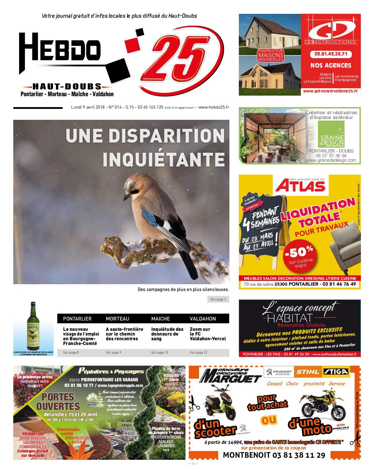 Meuble En Fer forgé Et Bois Nouveau Calaméo Hebdo Pontarlier 15 2018 Of 40 Inspirant Meuble En Fer forgé Et Bois