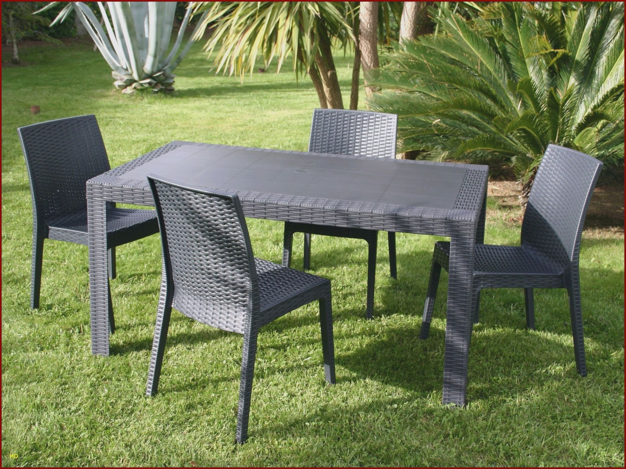 Meubles De Jardin Hesperides Charmant Chaises Luxe Chaise Ice 0d Table Jardin Resine Lovely