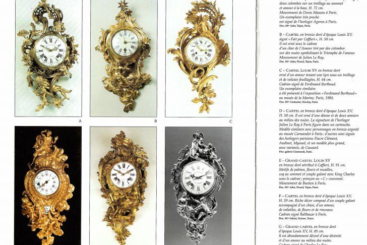Mobilier De France tours Charmant Charles Baltazar An Louis Xv Cartel Clock Of Fourteen Day