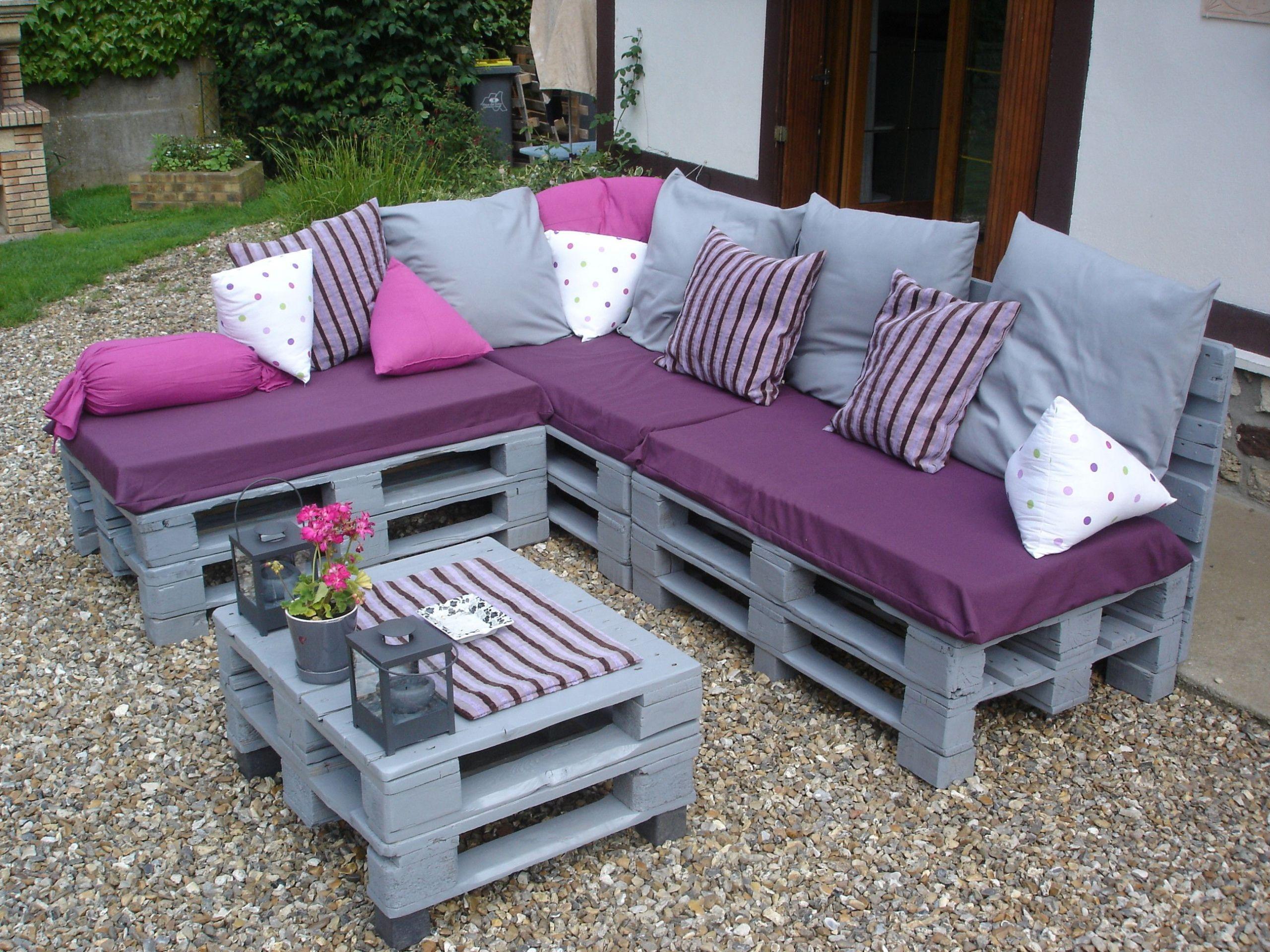 Table De Jardin Recup 36 nouveau mobilier de jardin en palette | salon jardin