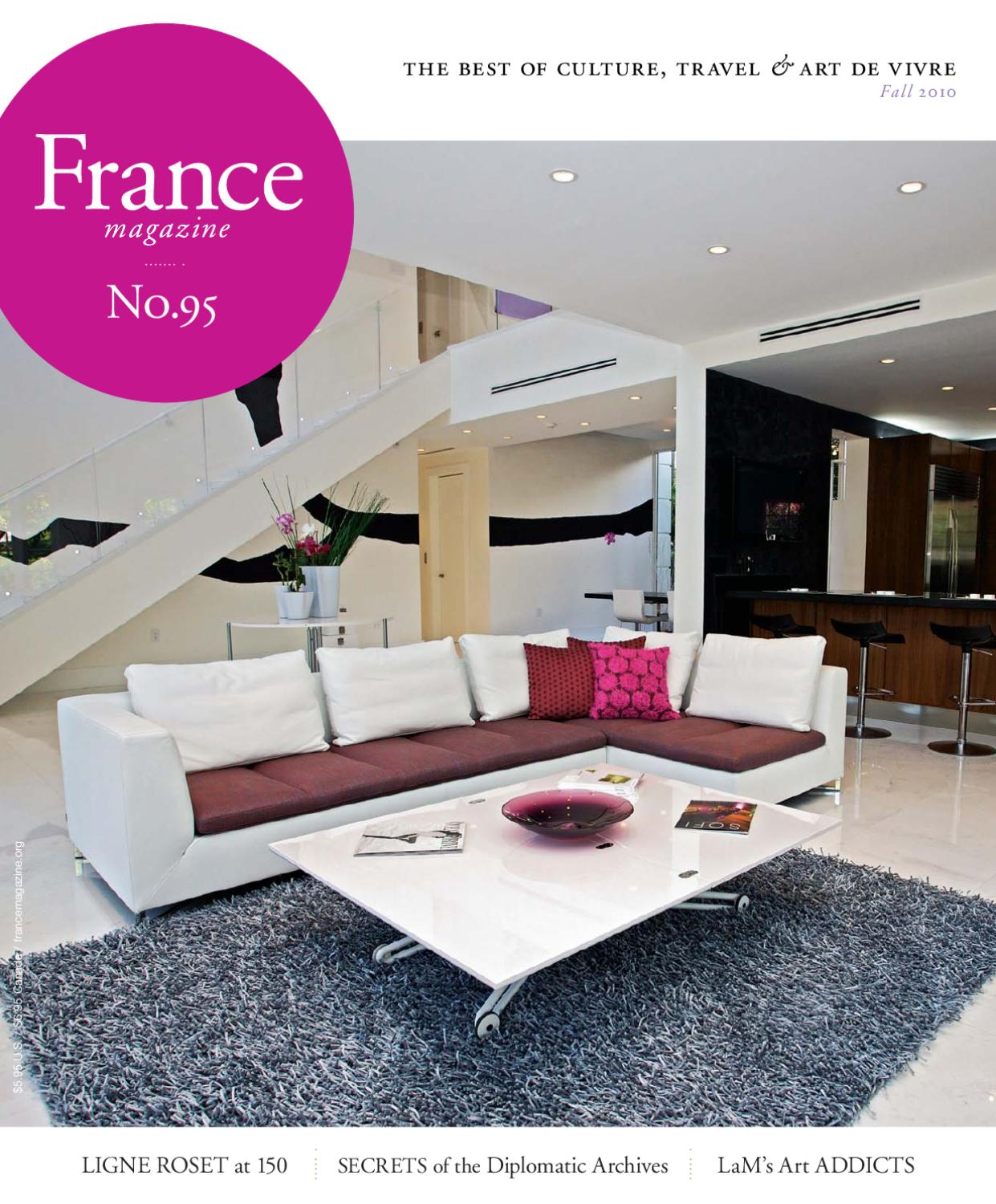 Mobilier De Veranda Design Génial France Magazine 95 Fall 2010 by France Magazine issuu Of 28 Frais Mobilier De Veranda Design