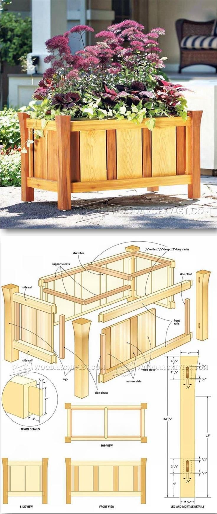 Mobilier Outdoor Élégant Versailles Planter Plans Outdoor Plans and Projects Of 36 Frais Mobilier Outdoor