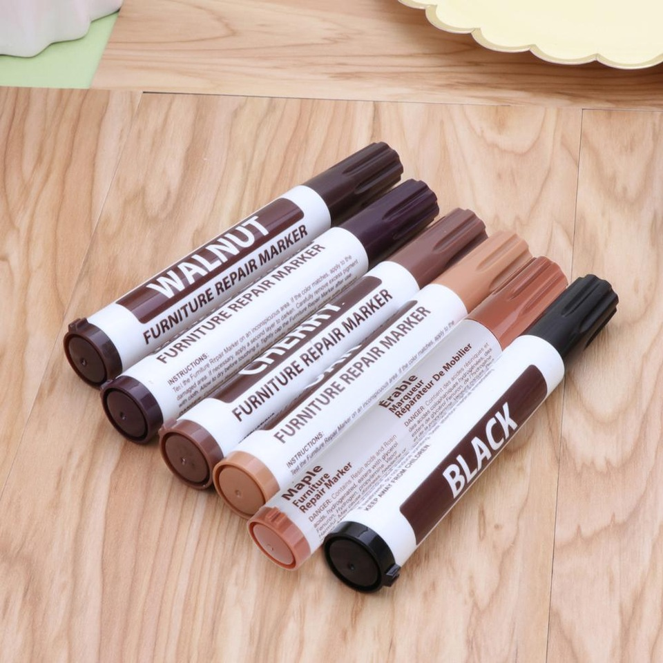 Furniture Repair Wood Cabinet Floor Touch Up Markers Scratch Filler Remover for Mahogany shades 960x960