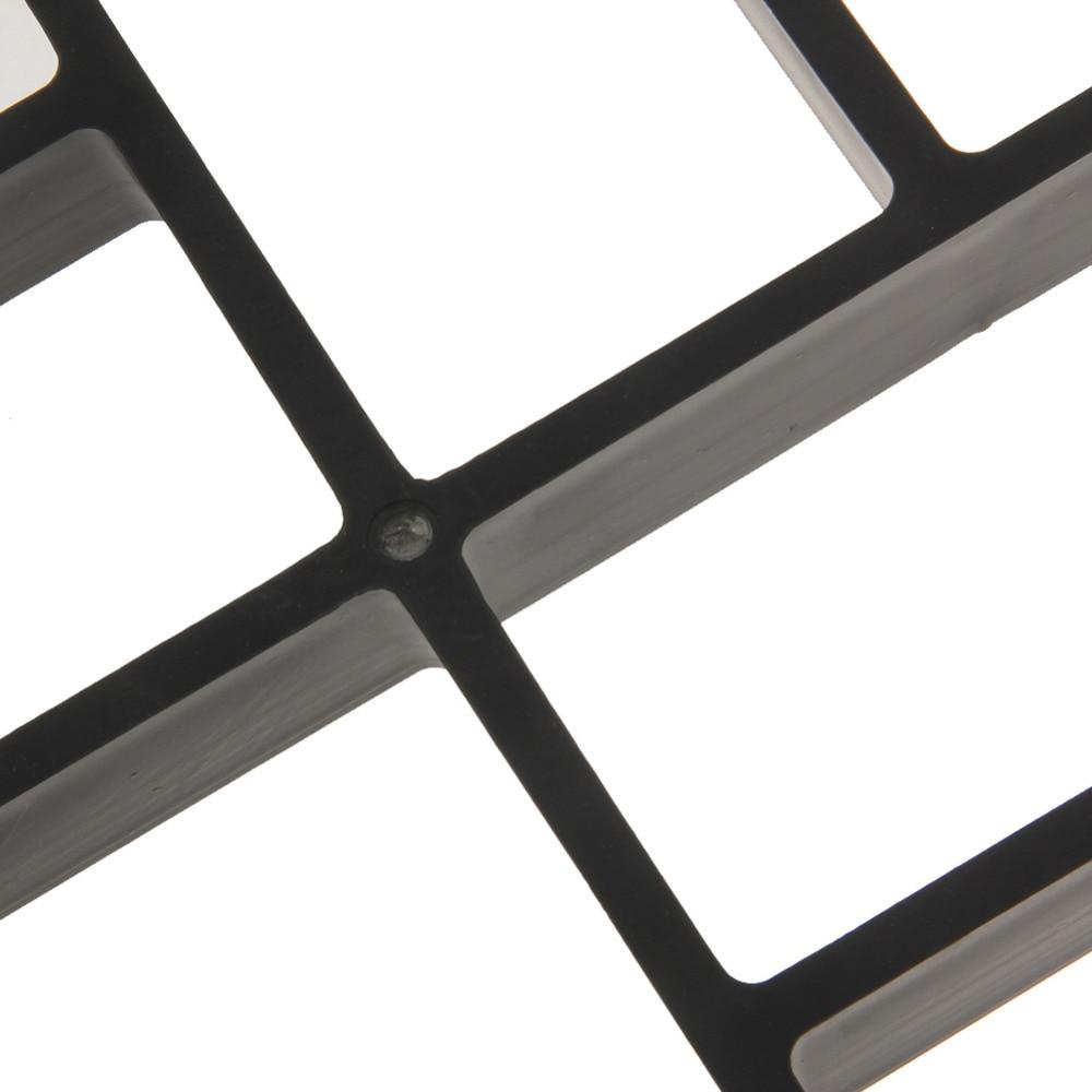 1 Pc Noir Rectangle Pavage En Plastique Moule Pour Moules B ton Jardin Chemin de BRICOLAGE