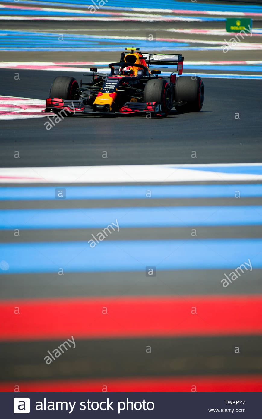 21st june 2019 circuit automobile paul ricard le castellet marseille france fia formula 1 grand prix of france practise sessions pierre gasly TWKPY7