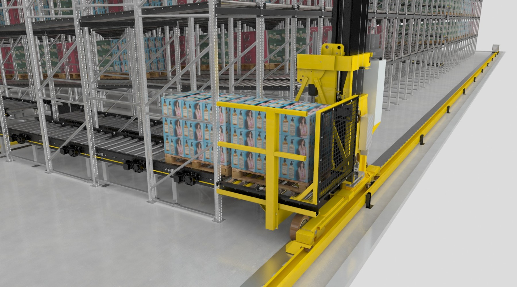 Stacker Crane 1800 1000