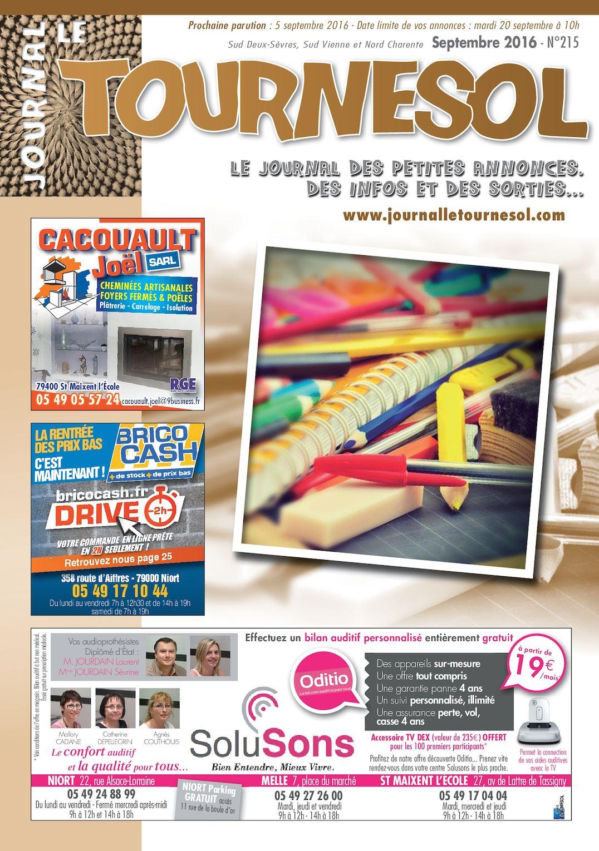 Prospectus Leclerc Auto Frais Calaméo Journal Le tournesol Septembre 2016 Of 24 Élégant Prospectus Leclerc Auto