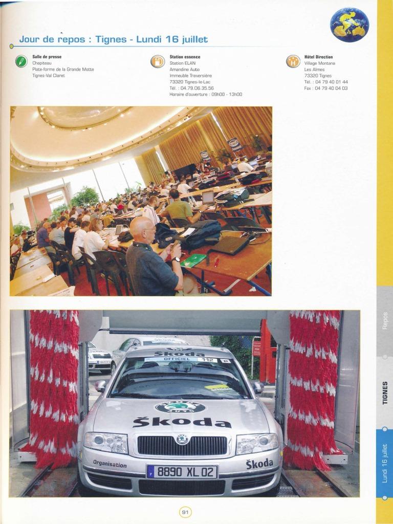 Prospectus Leclerc Auto Frais Tdf2007 Roadbook Part2 Sports