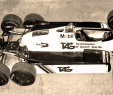 Pub Leclerc Drive Charmant 1982 Tag Williams ford Fw08b Six Wheeler F1 Car