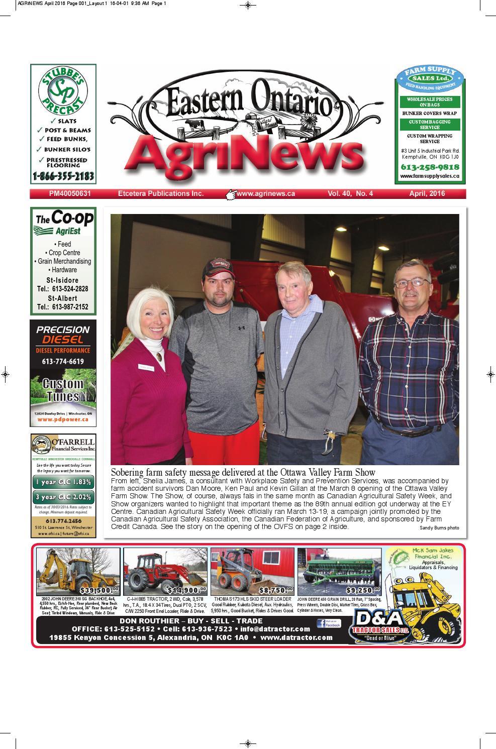 Pub Leclerc Drive Frais Agrinews April 2016 by Robin Morris issuu