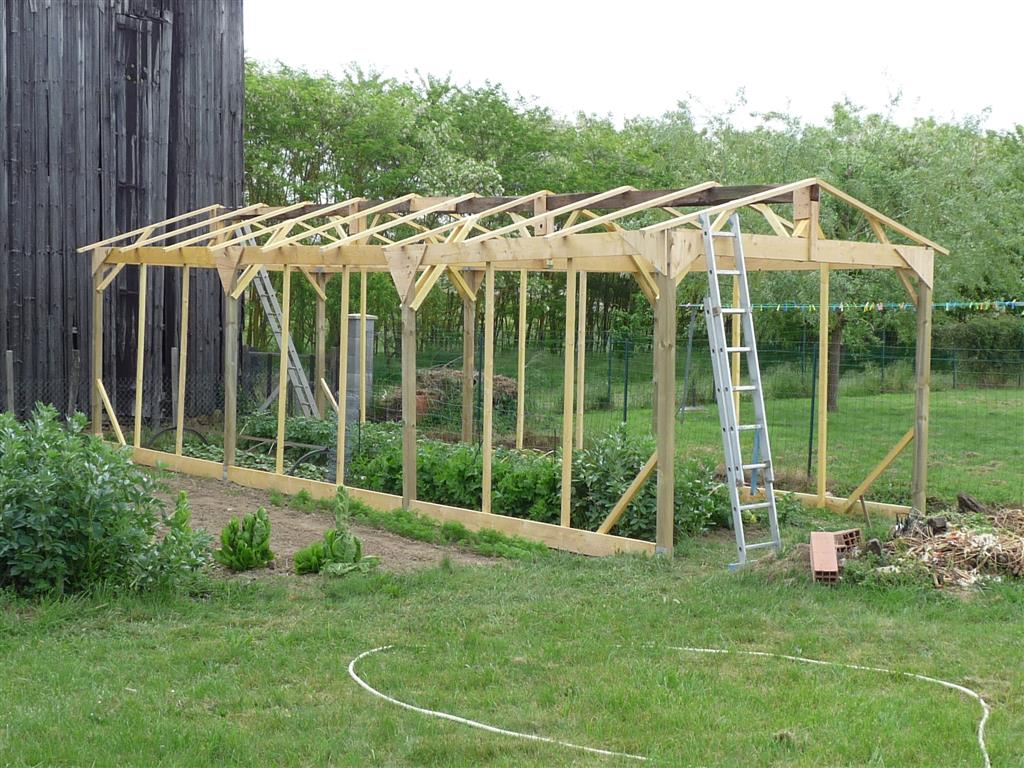 Salon Bas De Jardin Luxe Construire Une Serre De Jardin En Bois Retour D Expérience