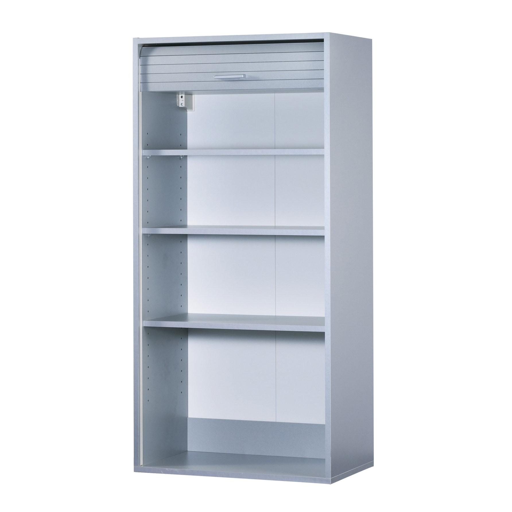 grand meuble rangement cuisine mcu 0101 2250 p05 element pour avec rideau coulissant h1236cm cook