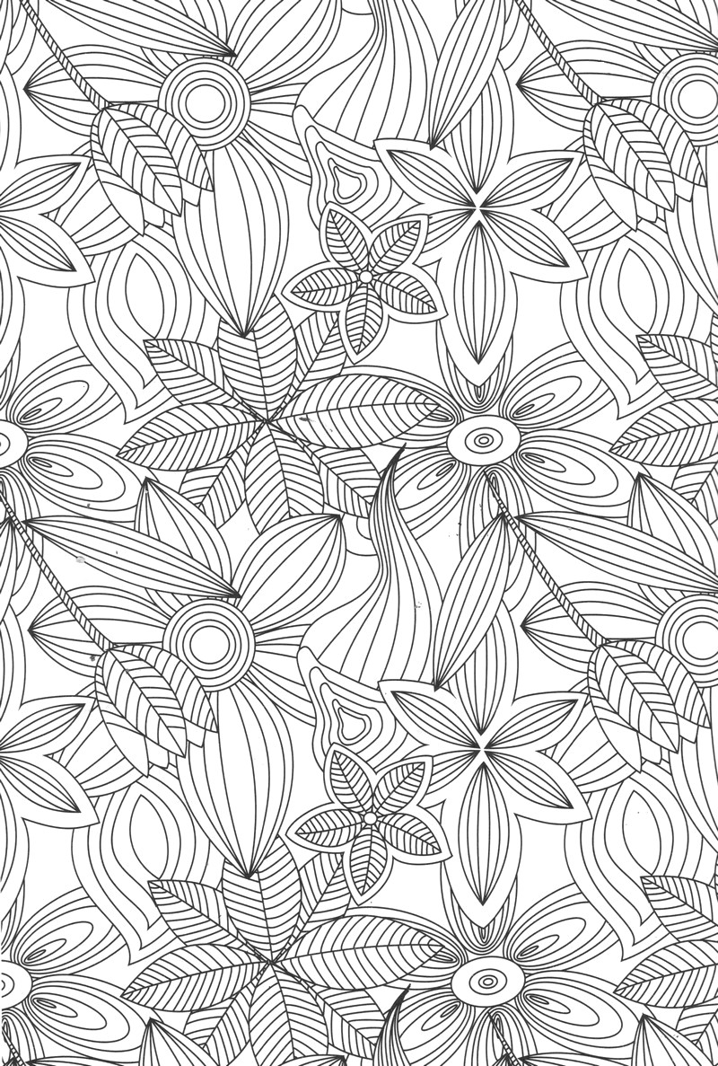 coloriages anti stress adultes page 3 coloriage detente