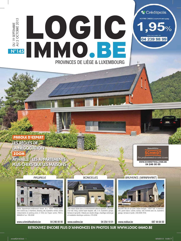 Salon De Jardin 2 Personnes Best Of Logic Immo Li¨ge & Luxembourg 145 Du 19 09 15 by S A Ipm