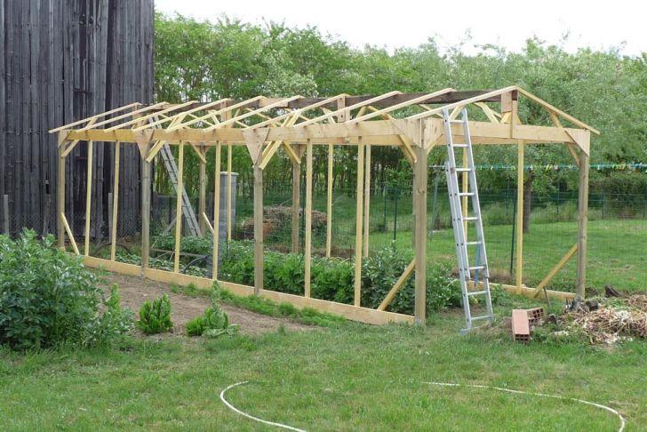 Salon De Jardin Aluminium Et Composite Génial Construire Une Serre De Jardin En Bois Retour D Expérience