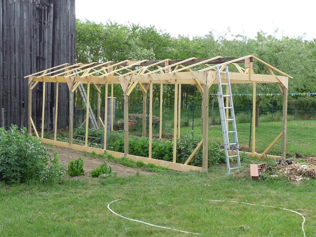 Salon De Jardin Aluminium Inspirant Construire Une Serre De Jardin En Bois Retour D Expérience