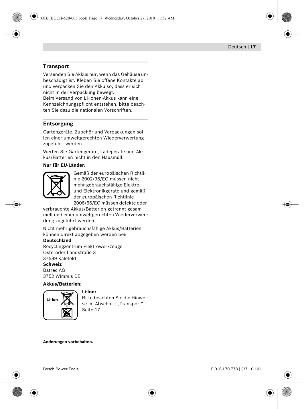 Art26LiManual User Guide Page 17