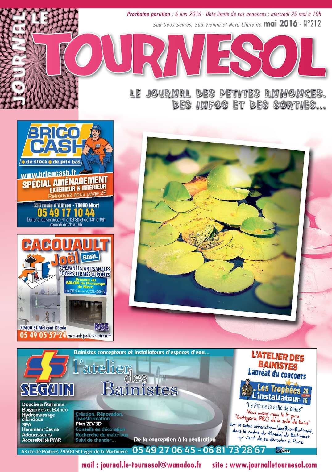 Salon De Jardin Blooma Génial Calaméo Journal Le tournesol Mai 2016 Of 32 Unique Salon De Jardin Blooma