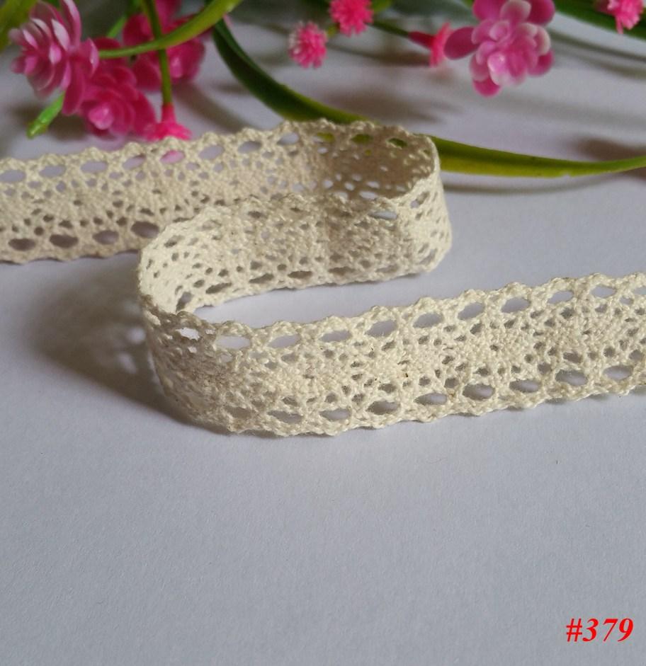 2 см laciness аксессуары ткань Материал 20 двор Природный Цвет кружево хлопок DIY украшения Материал шнур