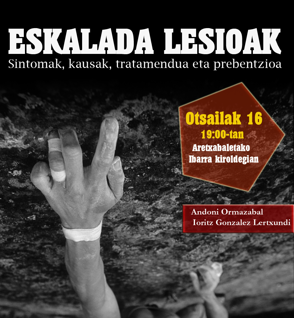 Poster charla