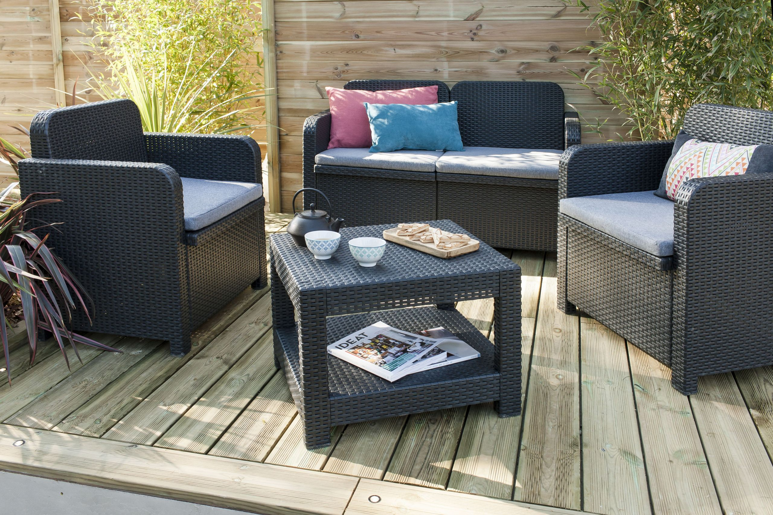 Salon De Jardin Confortable Luxe Salon Terrasse