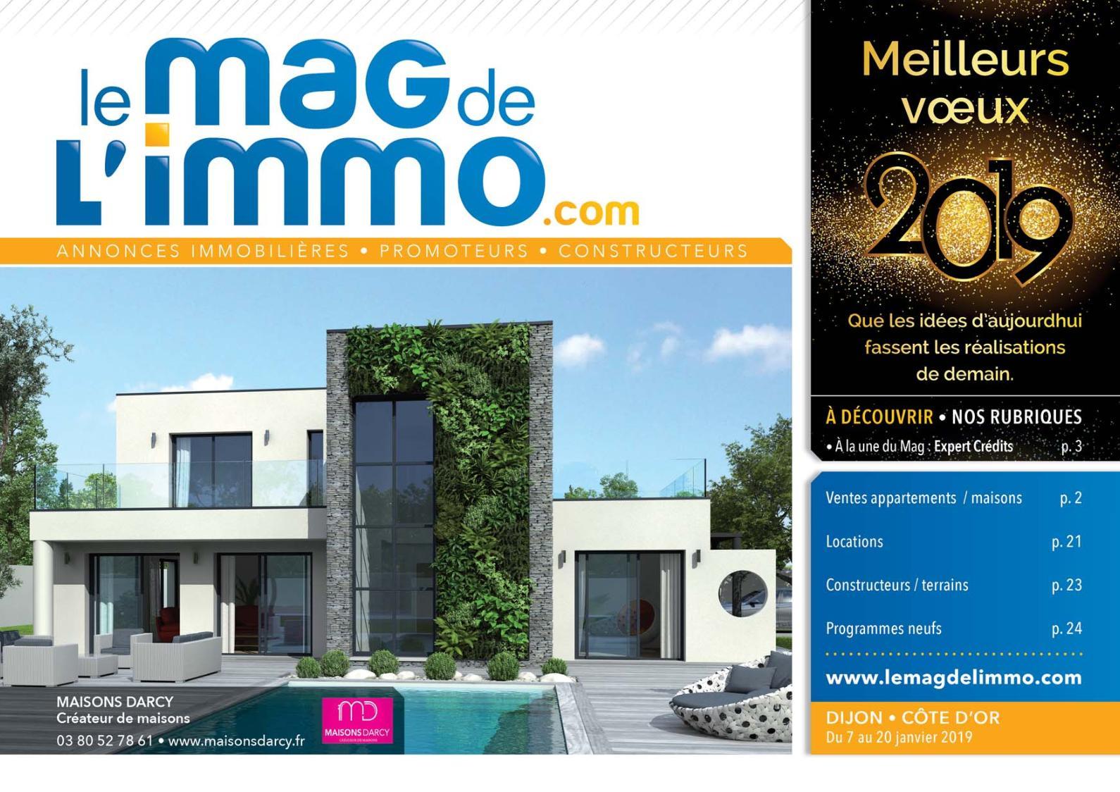 Salon De Jardin Contemporain Charmant Calaméo Le Mag De L Immo Dijon Du 7 Au 20 Janvier 2019 Of 29 Unique Salon De Jardin Contemporain
