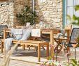 Salon De Jardin Couleur Luxe Cette Table Affiche Un Style Naturel Des Plus Tendances