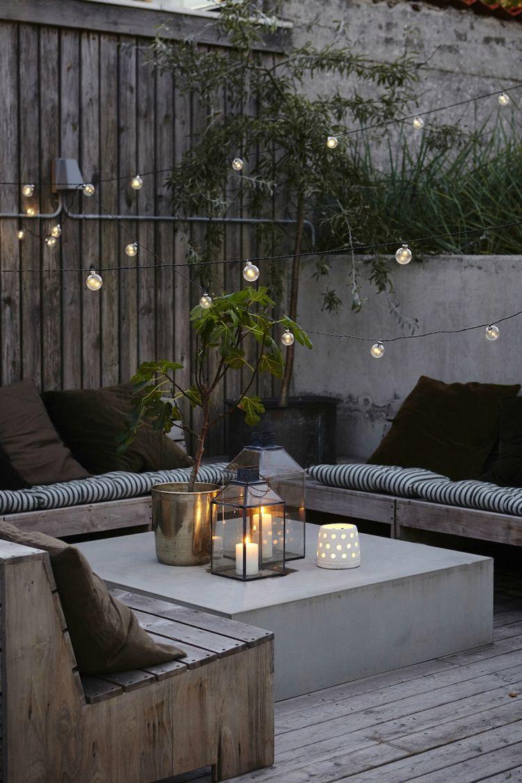 Salon De Jardin D Angle Luxe Idées Déco Aménager Une Terrasse originale Invitant  La