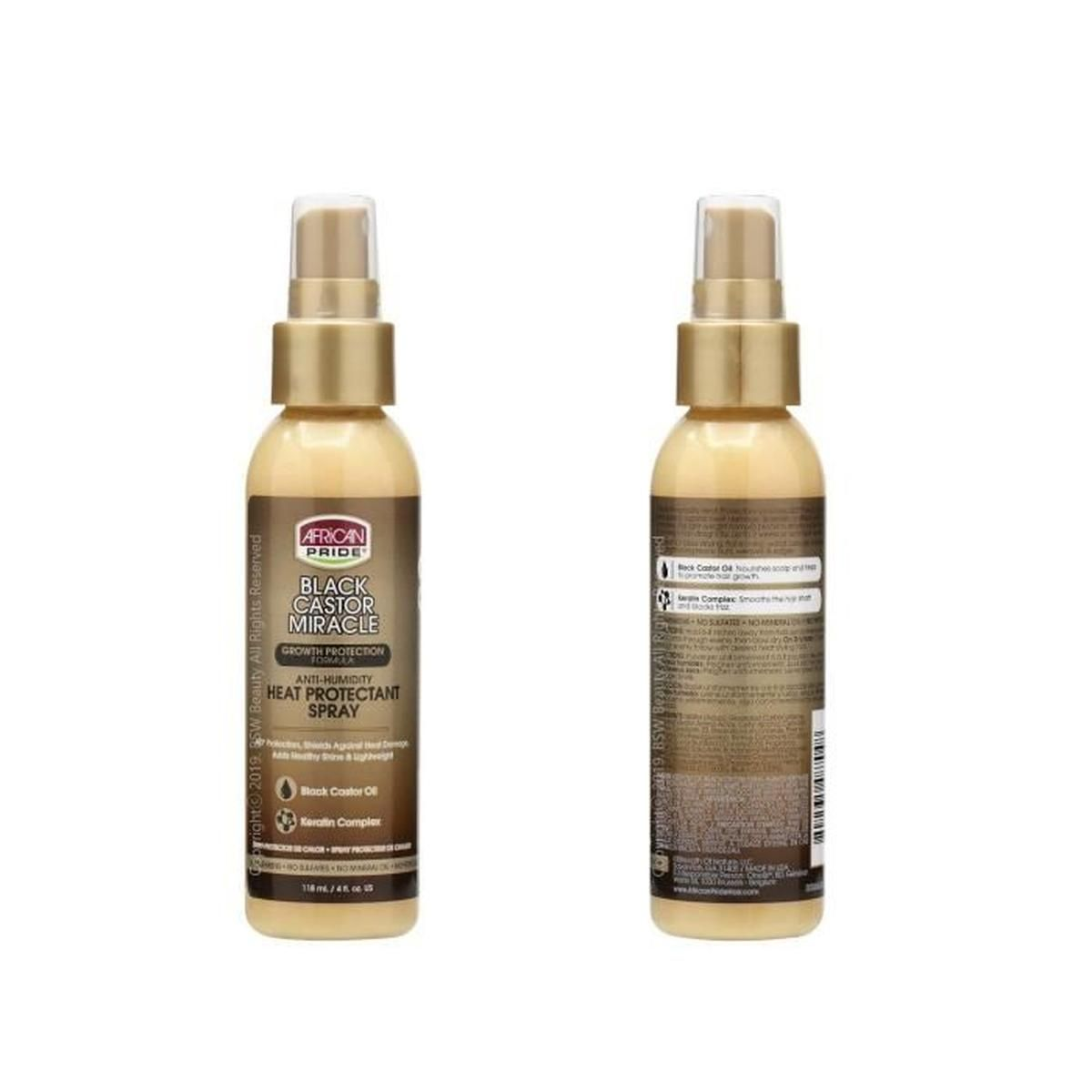 spray protecteur de chaleur 118ml african pride bl
