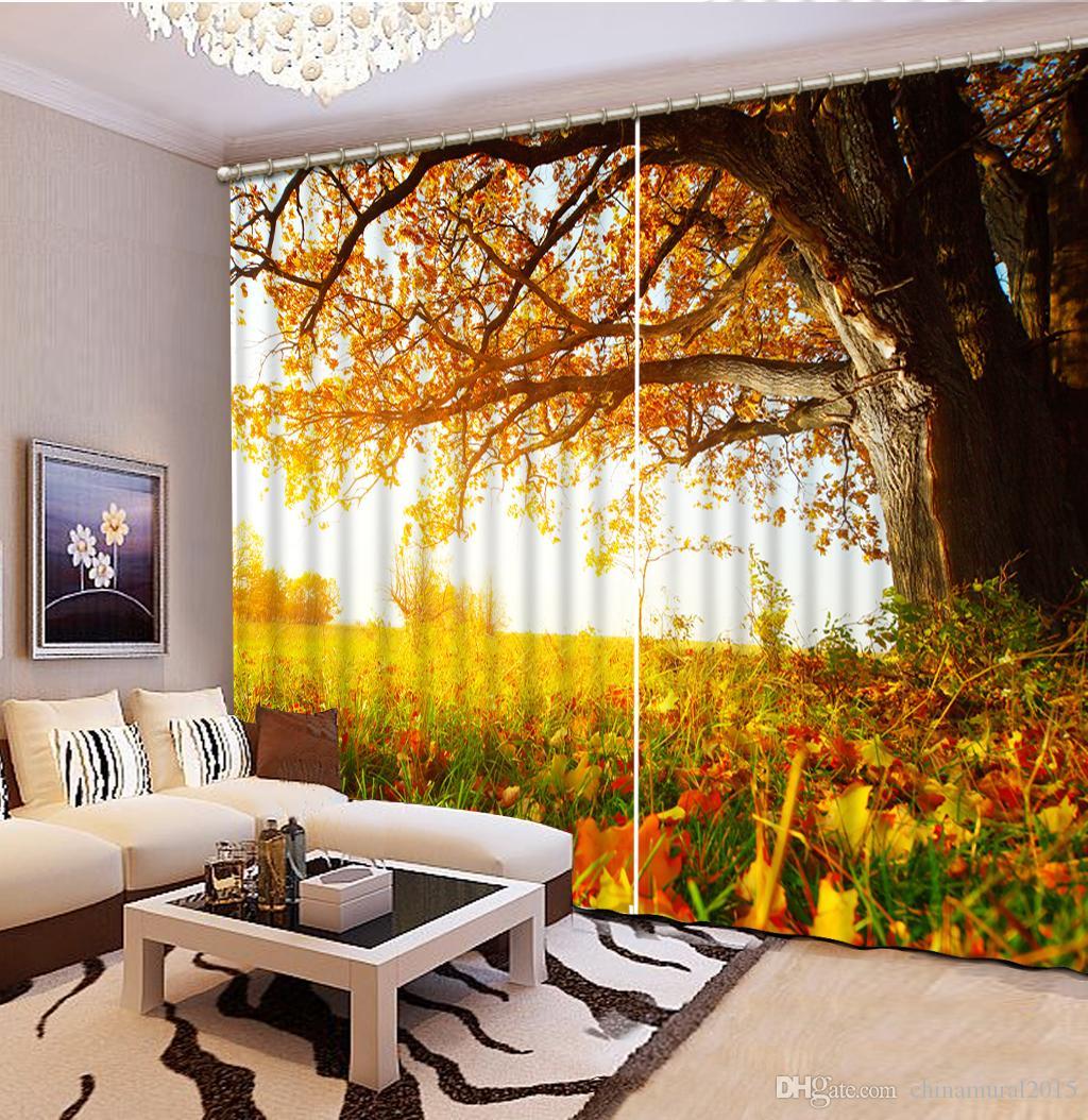 Salon de jardin en bambou charmant personnalis 3d paysage Peinture salon de jardin