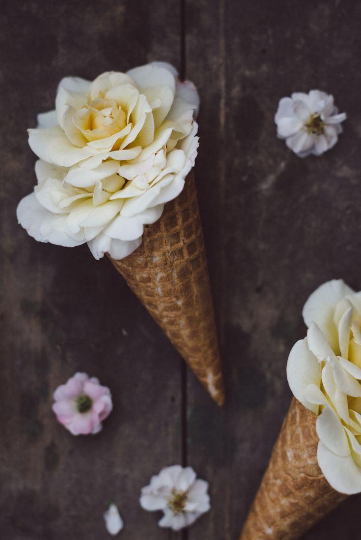 ef0d f bc0adb bdd flower ice cream cone floral flowers