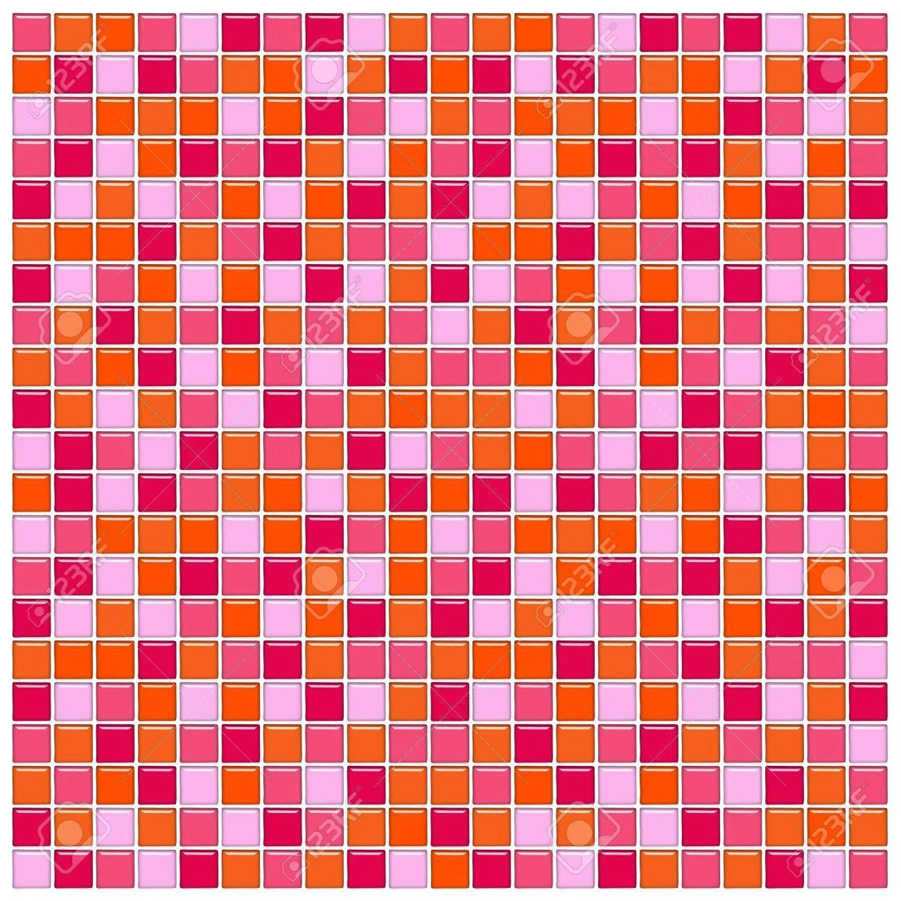 mosaique rose fushia avec rouge salle de bain best idees et mur la bains verre orange mosa c3 afques banque du0027images or d 3